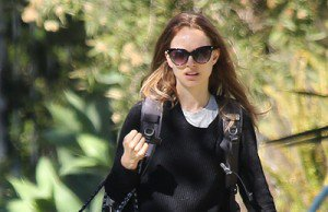 Natalie out and about in Santa Monica