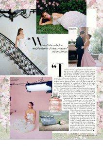 Miss Dior In Harpers Bazaar