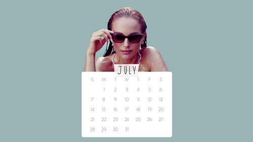 Calendar For July