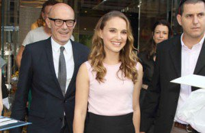 Natalie Visits Christian Dior in Ginza