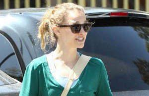Natalie out and about in L.A.