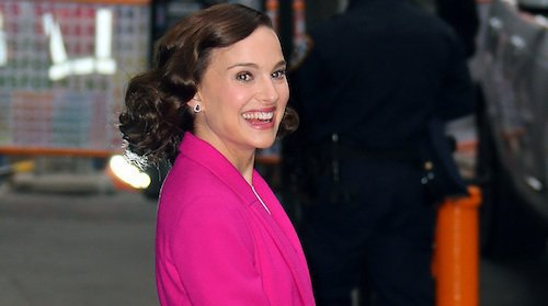Natalie Portman departs 'GMA' in NYC