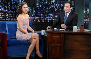 Natalie Visits Jimmy Fallon