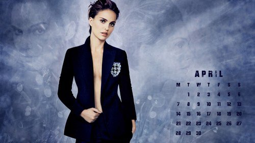 Calendar Wallpaper – April
