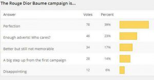 New Poll + Baume Results