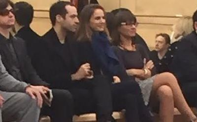 Natalie Portman watches Hamlet at Bolshoi