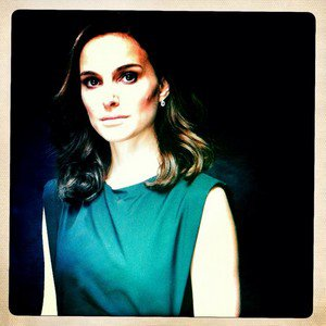 Natalie Portman portrait for Hollywood Reporter