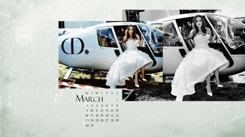 Natalie Portman calendar 2015