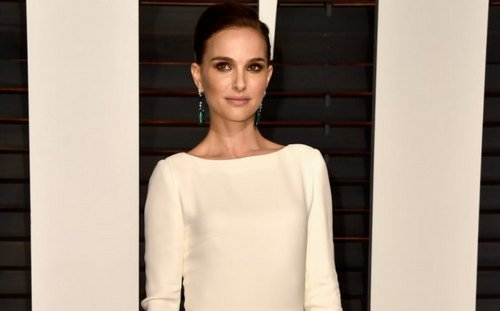 Natalie Portman attends Academy Awards Vanity Fair party