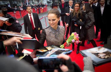 Natalie At Berlinale