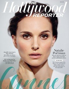 Natalie Portman on the cover of The Hollywood Reporter