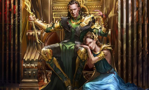 Loki and Jane traitors