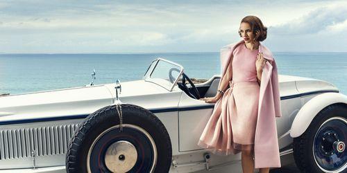 Natalie Portman in Harpers Bazaar