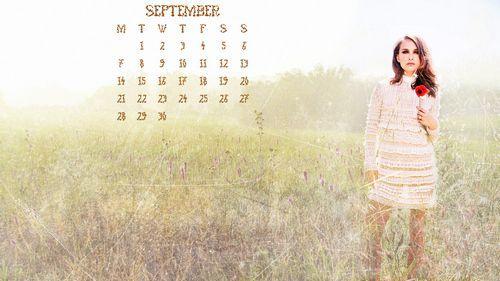 Calendar – September