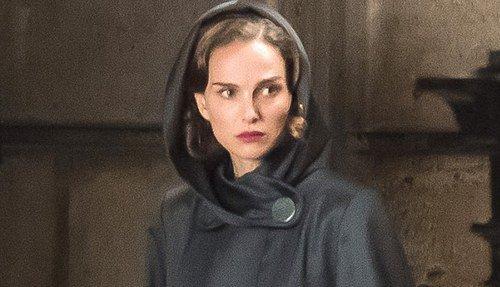 Natalie Portman filming Planetarium