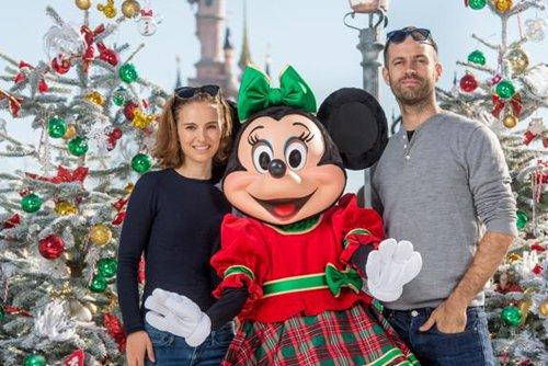 Natalie and Family at Disneyland Paris