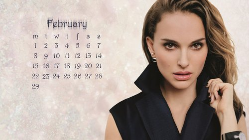 NataliePortman_2016_February_calendar