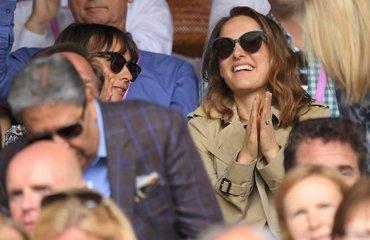 Natalie & Rashida in Wimbledon