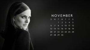 Calendar – November