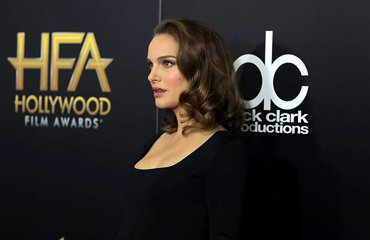 Natalie at the Hollywood Film Awards