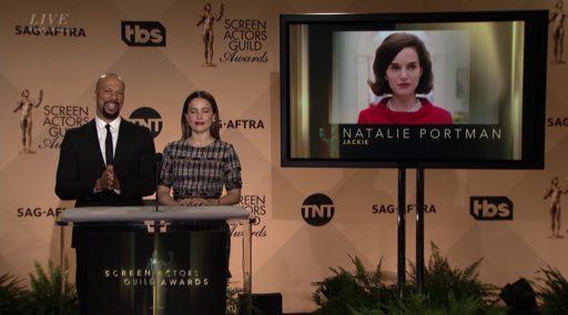 Natalie nominated at the SAG Awards