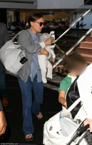 Natalie & Family at the Airport