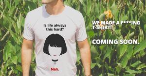We made a t-shirt