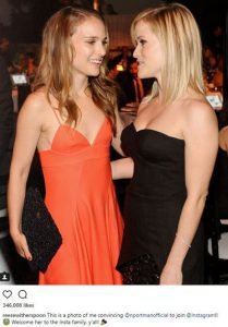 Natalie Portman and Reese Witherspoon