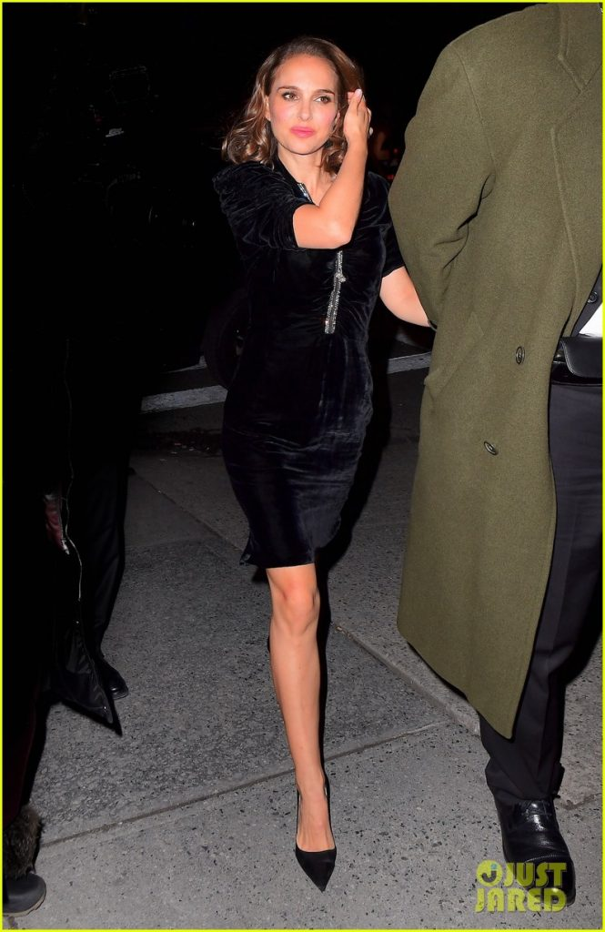 547da2b9931 We started with a few images of Natalie arriving at the SNL after party.  This time Just Jared has the pictures