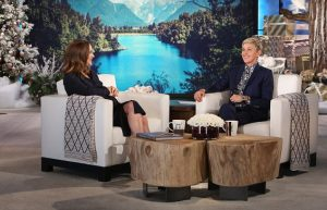 Natalie will be at the Ellen Show