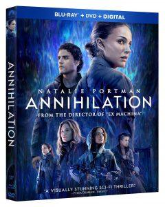 Annihilation Blu-ray Release Date
