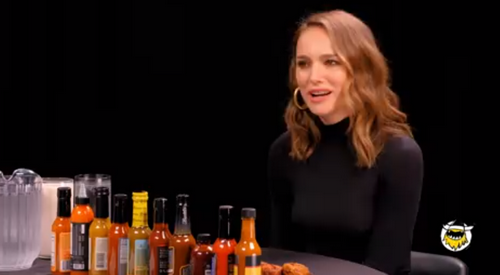 Natalie Portman hot ones