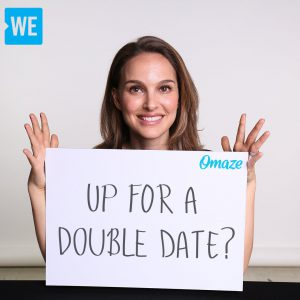 WE / Omaze Campaign
