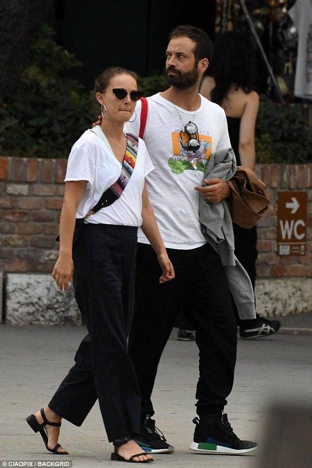 Natalie and Benjamin in Venice