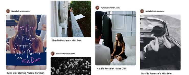 Natalie Portman Dot Com on Pinterest