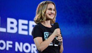 Natalie Portman at the Global Citizen Festival