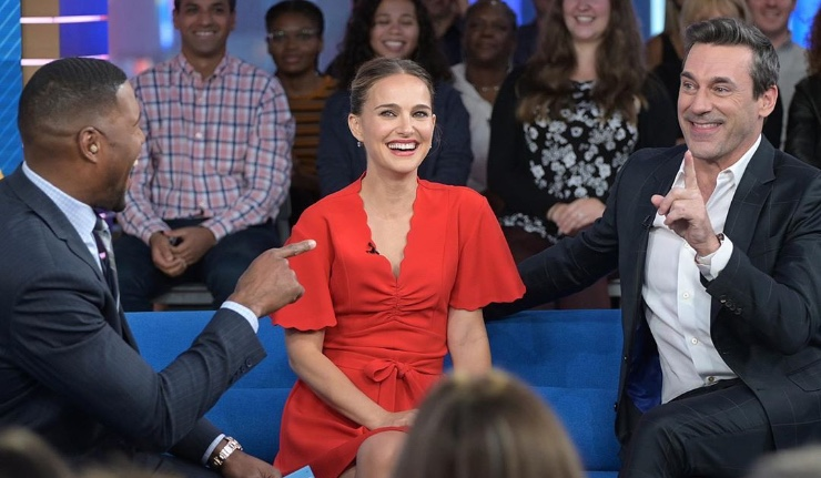 Natalie Portman in 'Good Morning America'