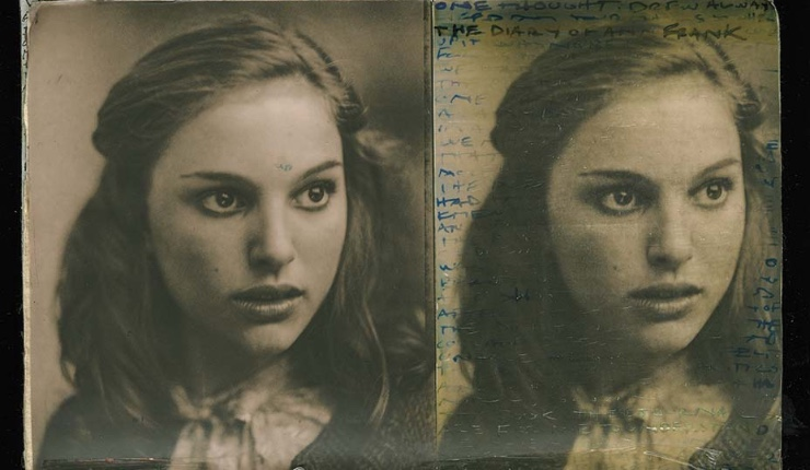 'Anne Frank' Portrait