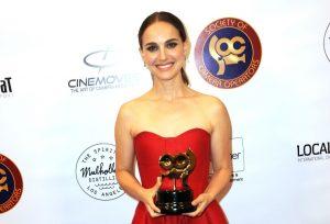 Natalie Portman at the SOC Awards