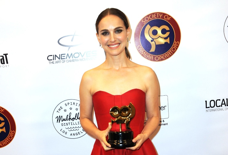 Natalie Portman at the SOC Awards