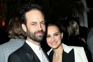 Natalie & Benjamin at the CAA Pre-Oscar Party