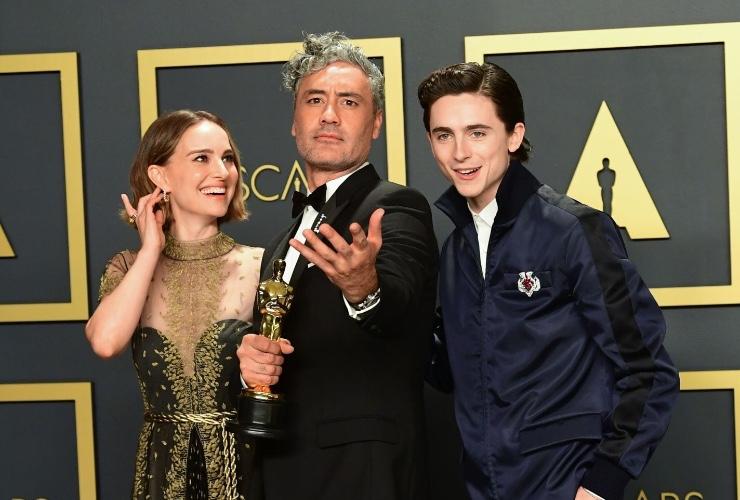 Oscars Press Room Photos