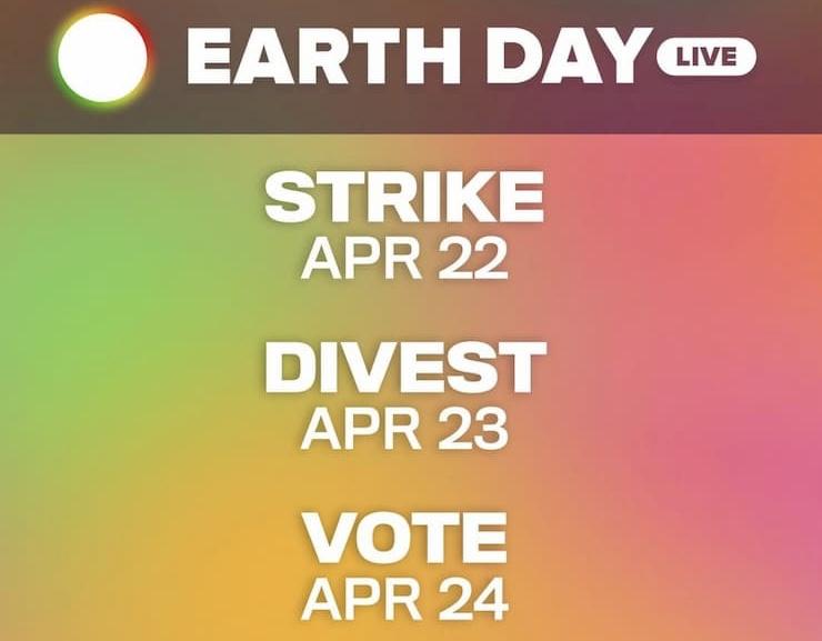 Natalie Portman Joins Earth Day Live