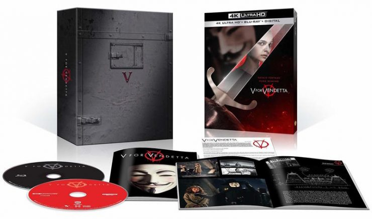 V for Vendetta on 4K Blu-ray!