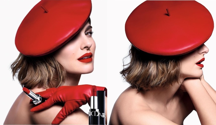 New Dior Rouge Lipstick Ad