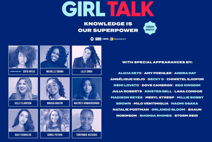 'Girl Talk' Appearance