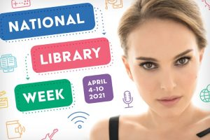 Natalie serves as honorary chair of National Library Week