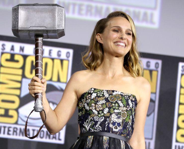 Training for Thor Movie