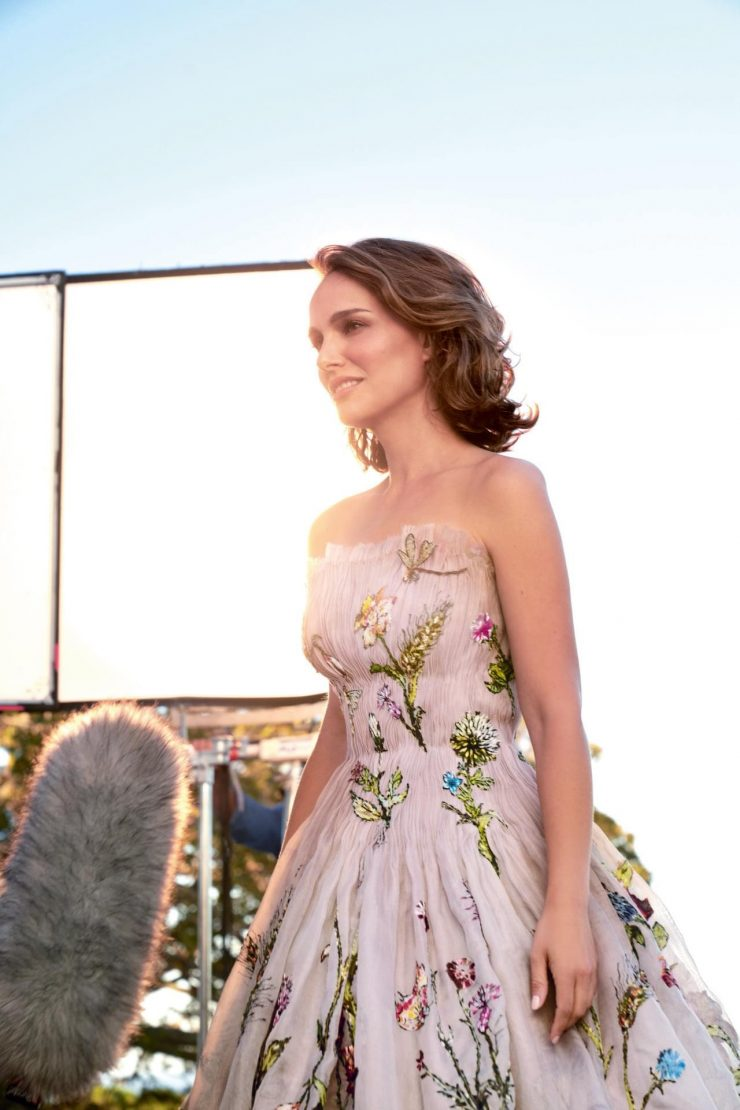 Miss Dior Behind the Scenes Photos